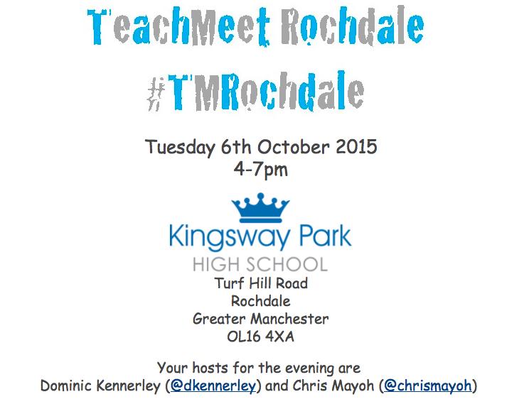 TeachMeet Rochdale