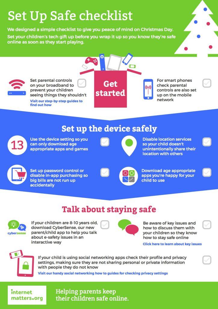 Set Up Safe Checklist